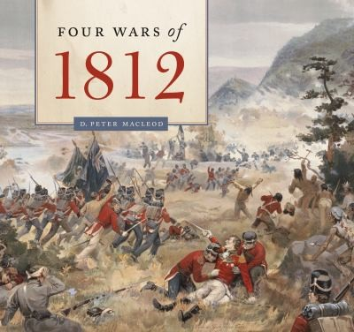 Book cover of 4 WARS OF 1812