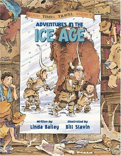 Book cover of ADVENTURES IN THE ICE AGE