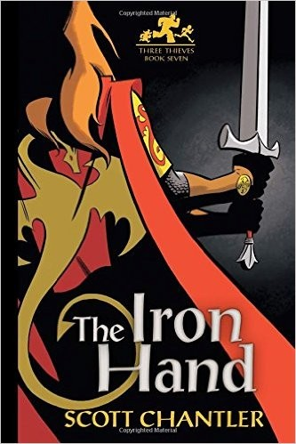 Book cover of 3 THIEVES 07 IRON HAND