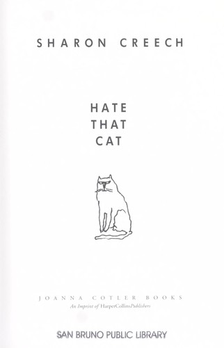 Book cover of HATE THAT CAT