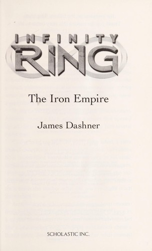 Book cover of INFINITY RING 07 THE IRON EMPIRE