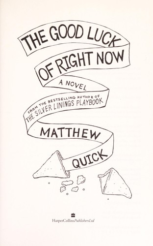 Book cover of GOOD LUCK OF RIGHT NOW