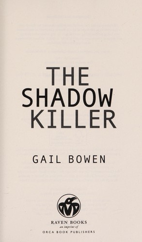 Book cover of SHADOW KILLER