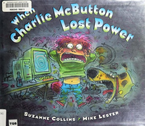 Book cover of WHEN CHARLIE MCBUTTON LOST POWER