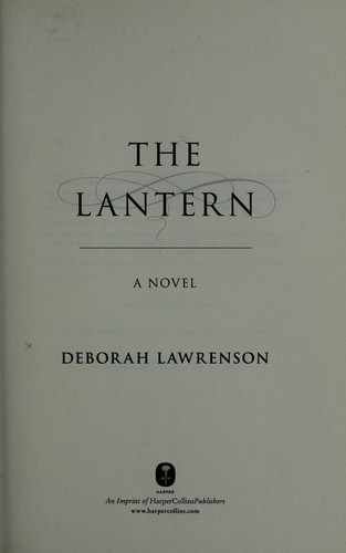 Book cover of LANTERN