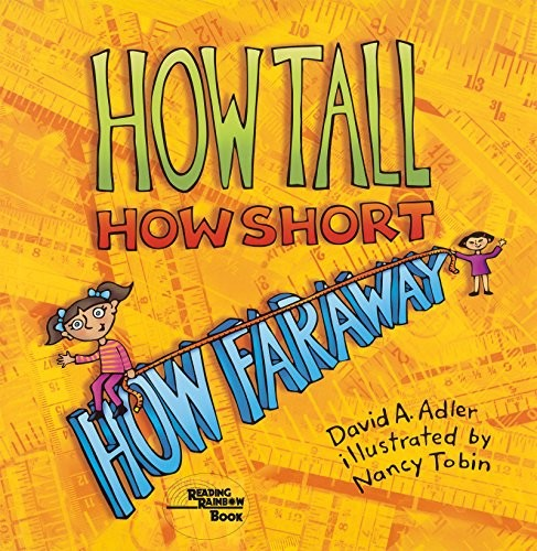 Book cover of HOW TALL HOW SHORT HOW FARAWAY