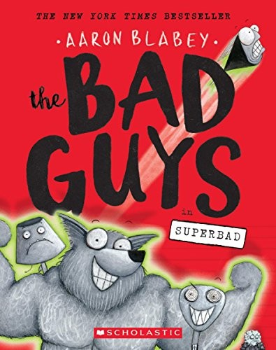 Book cover of BAD GUYS 08 SUPERBAD