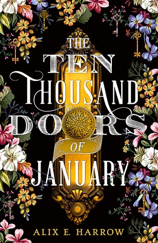 Book cover of 10 THOUSAND DOORS OF JANUARY