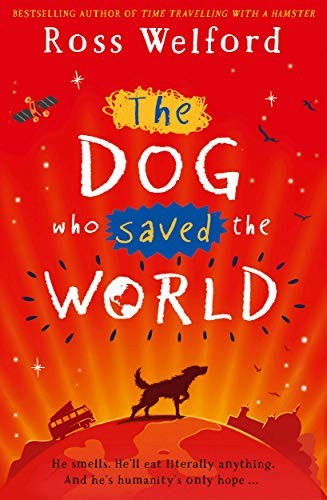 Book cover of DOG WHO SAVED THE WORLD