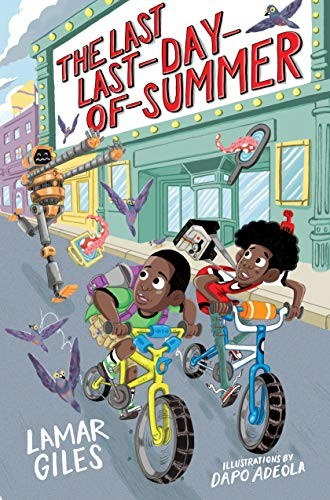 Book cover of LAST LAST DAY OF SUMMER