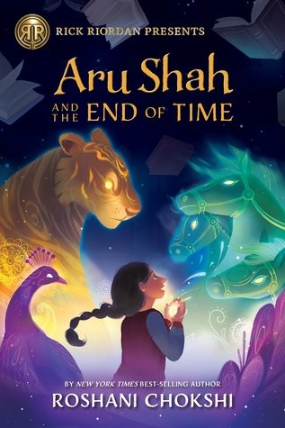Book cover of ARU SHAH 01 & THE END OF TIME