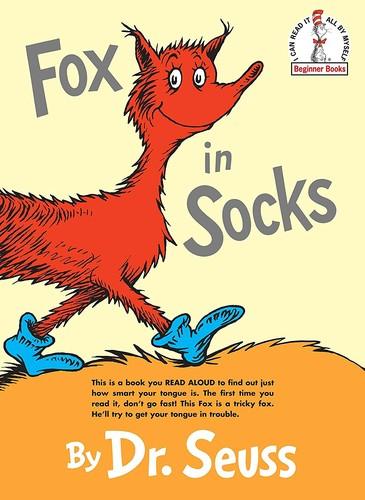Book cover of FOX IN SOCKS