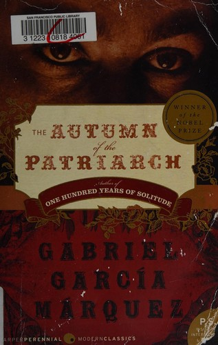 Book cover of AUTUMN OF THE PATRIARCH