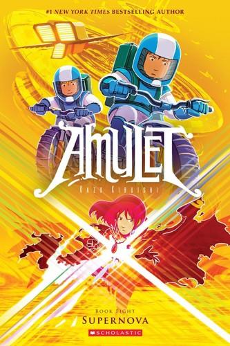 Book cover of AMULET 08 SUPERNOVA