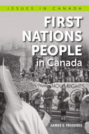 Book cover of 1ST NATIONS PEOPLE IN CANADA