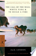 Book cover of CALL OF THE WILD WHITE FANG TO BUILD