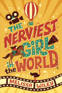 Book cover of NERVIEST GIRL IN THE WORLD