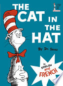 Book cover of CAT IN THE HAT IN ENG & FRENCH