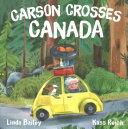 Book cover of CARSON CROSSES CANADA