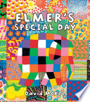 Book cover of ELMER'S SPECIAL DAY