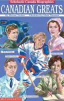 Book cover of CANADIAN GREATS