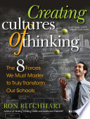 Book cover of CREATING CULTURES OF THINKING