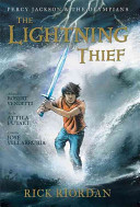 Book cover of PERCY JACKSON GN 01 LIGHTNING THIEF