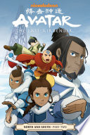 Book cover of AVATAR THE LAST AIRBENDER NORTH SOUTH 02