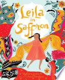 Book cover of LEILA IN SAFFRON