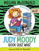 Book cover of JUDY MOODY - BOOK QUIZ WHIZ