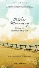 Book cover of OCTOBER MOURNING