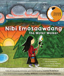Book cover of WATER WALKER NIBI EMOSAAWDANG