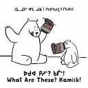Book cover of NANUQ & NUKA WHAT ARE THESE KAMIIK