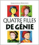 Book cover of QUATRE FILLES DE GENIE