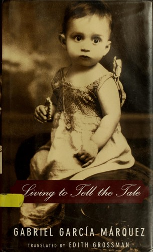 Book cover of LIVING TO TELL THE TALE