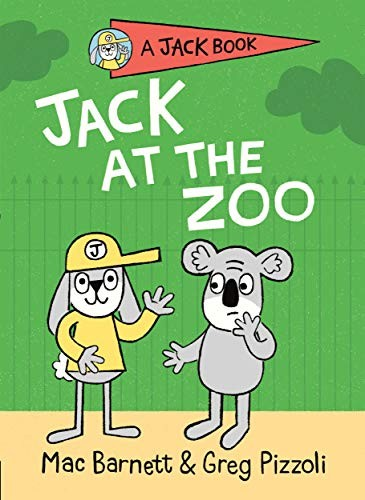 Book cover of JACK AT THE ZOO
