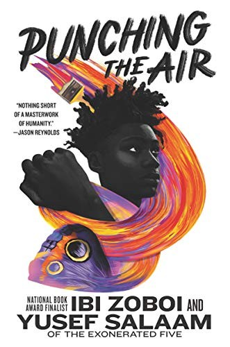 Book cover of PUNCHING THE AIR