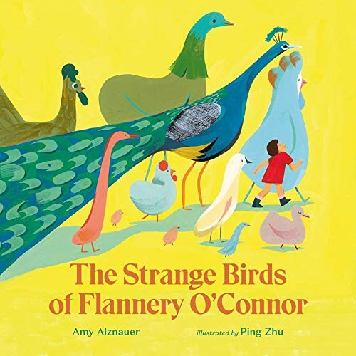 Book cover of STRANGE BIRDS OF FLANNERY O'CONNOR