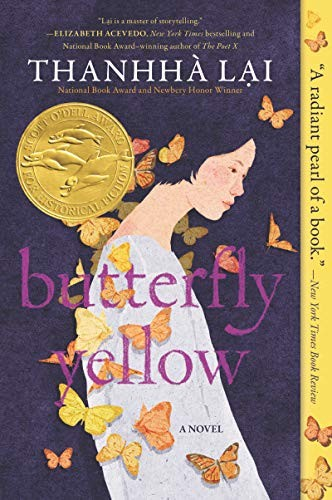 Book cover of BUTTERFLY YELLOW