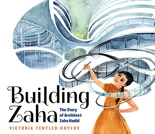 Book cover of BUILDING ZAHA