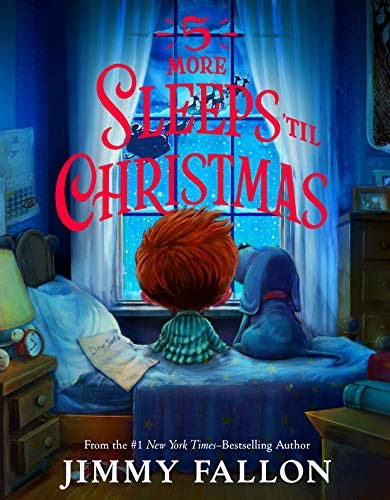 Book cover of 5 MORE SLEEPS 'TIL CHRISTMAS