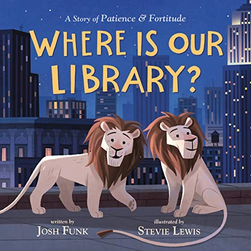 Book cover of WHERE IS OUR LIBRARY