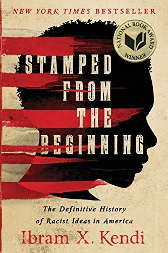 Book cover of STAMPED FROM THE BEGINNING