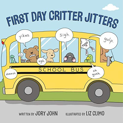 Book cover of 1ST DAY CRITTER JITTERS