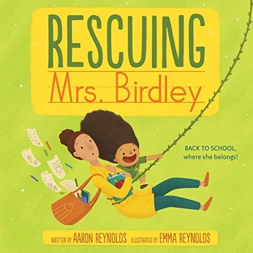 Book cover of RESCUING MRS BIRDLEY