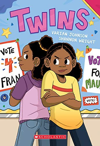 Book cover of TWINS 01