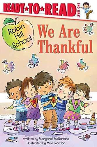 Book cover of WE ARE THANKFUL