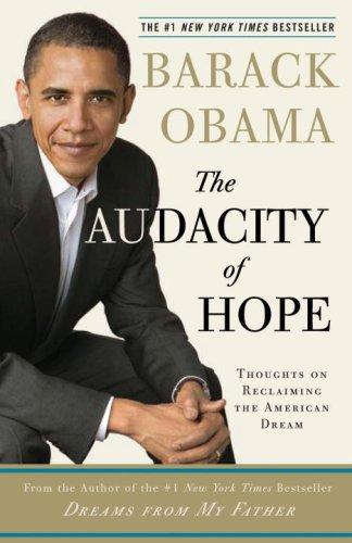 Book cover of AUDACITY OF HOPE