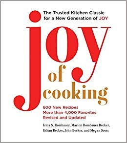 Book cover of JOY OF COOKING