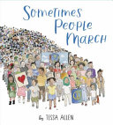 Book cover of SOMETIMES PEOPLE MARCH